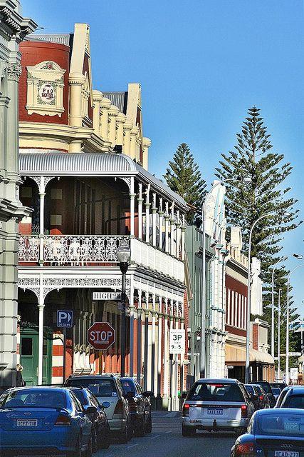 Cliff Street, Fremantle ~ Western Australia