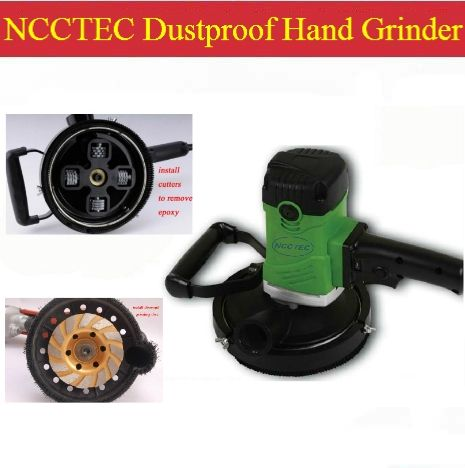 336.17$  Buy here - http://ali3ee.worldwells.pw/go.php?t=1319262958 - 6'' Dustproof electric hand held grinder scarifier | 150mm professional tools for removing epoxy and grinding concrete | 4kg