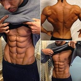 Lean Shredded abs...