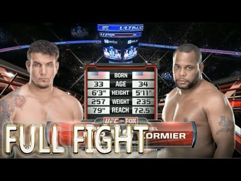 Daniel Cormier vs Frank Mir FULL FIGHT
