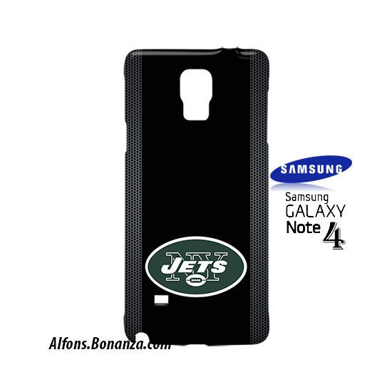 New York Jets Custom Samsung Galaxy Note 4 Hardshell Case
