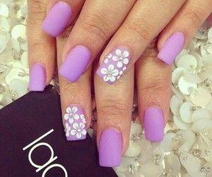 Pink nails...