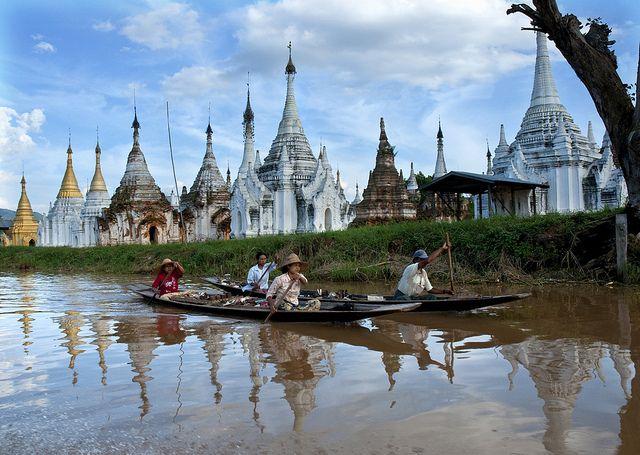 Ethereal.....Inle Lake, Myanmar