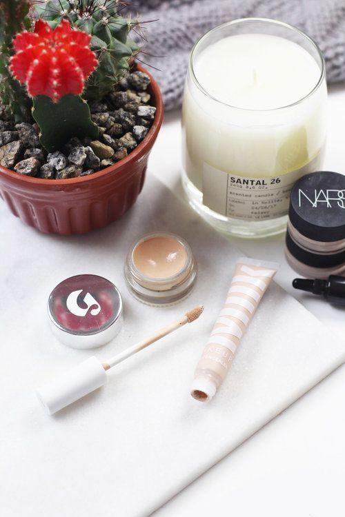 Glossier Stretch Concealer + Milk Makeup Flex Concealer   Beauty by Kelsey