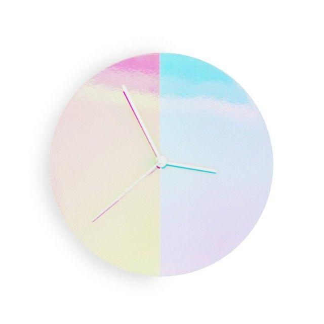 Color Wall Clock by Atob Studio on Qrator.com!