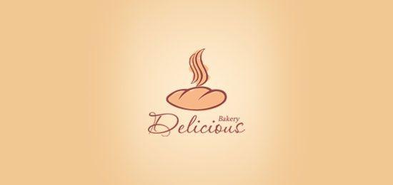 Bakery logo design: Bakery Delicious