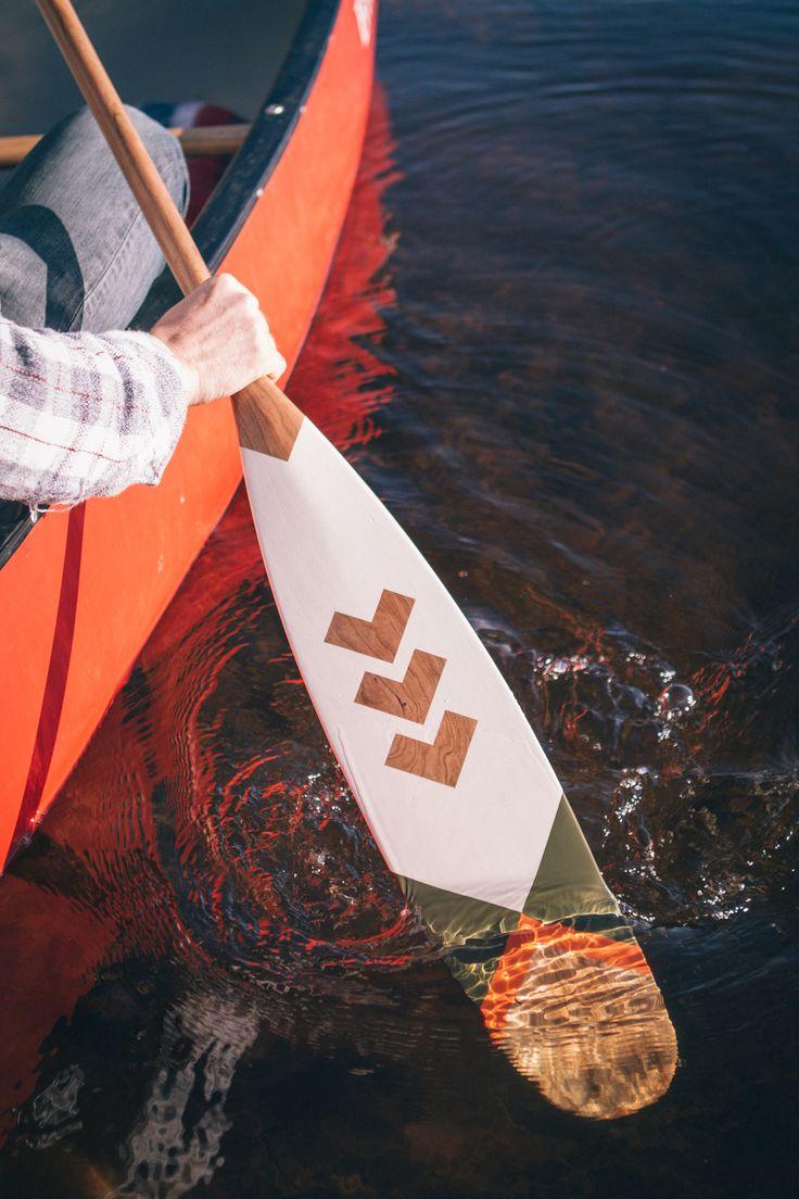 NORQUAY Co. Canoe Paddles // Art of Camping http://norquayco.com