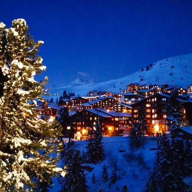 Instagram media by mevans338 - Belle Plagne at night #paradiski #laplagne #ski #skiing #freeski #freeride #alps #france