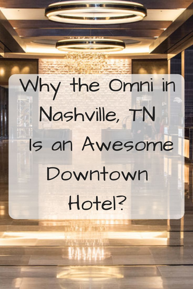 Anyone visiting Nashville will ultimately have to decide which area they want to stay given that there are so many options available depending on your personal preference. In recent years, Nashville has become an increasingly popular spot for visitors from around the world and certainly for good reason. If you choose to stay downtown and enjoy the ultimate Broadway experience while having easy access to other iconic attractions, we have the perfect hotel for you. The Omni in Nashville is…
