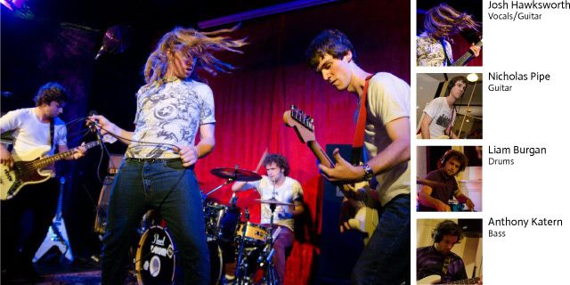 Seventeen Fifty Seven an emerging, exciting new Band from South Australia. Look out for these guys