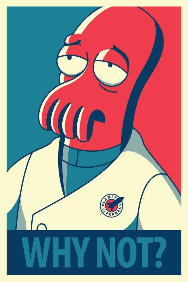 Futurama Posters by Barry Doyon, via Behance