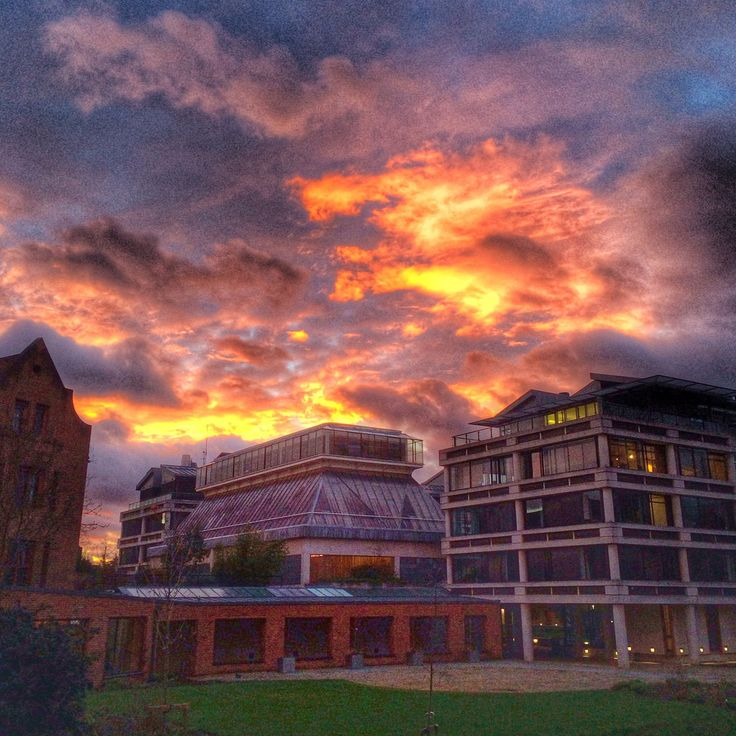 Sunset at Queens' College