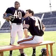 Gayle Sayers and Brian Piccolo | Opposites attract, what an amazing Duo~ Brian Piccolo and Gayle Sayers
