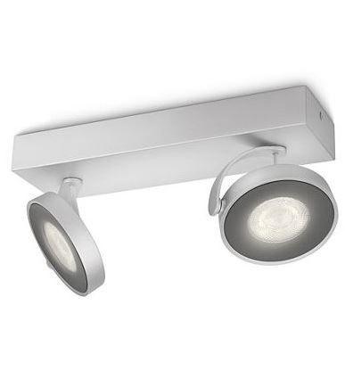 Plafón de Techo 2 Focos LED - Regleta 2L Aluminio