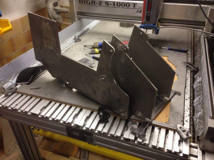 Stahl Modelle - Stahl Modellbau mit cnc Fräse