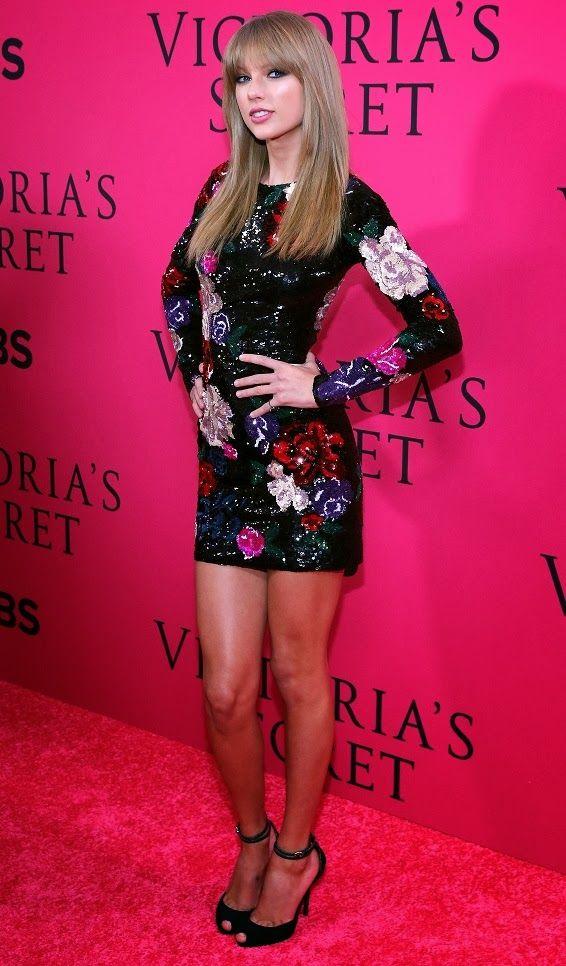 MyMy .. The No Feminist Blog: Taylor Swift au Victoria Secret Fashion After-Party 2013 à New-York - 13.11.2013
