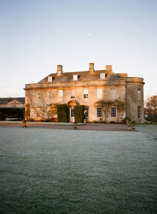 Babington House is a very pretty Georgian house that could easily be Longbourn or Hartfield