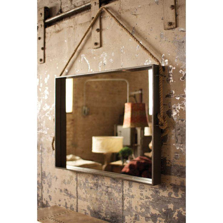Antique mirror bathroom - Rustic Mirror