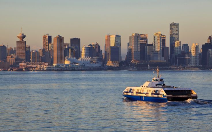 Great Ways To Commute To Work | Rough Guides Seabus and skytrain, Vancouver, Canada