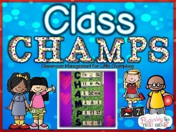 CHAMPS behavior management is the key to classroom behavior success. These posters, printables and activities are based upon CHAMPS classroom expectations...with our own twist!C CONVERSATIONH HELPA ACTIVITYM MOVEMENTP PARTICIPATIONS SIGNALSet your students up for successTeach your students to be class CHAMPS!