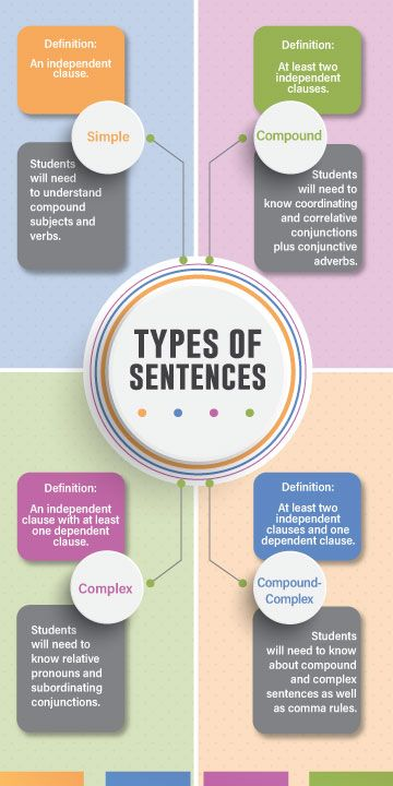 Types of Sentences Worksheets and More