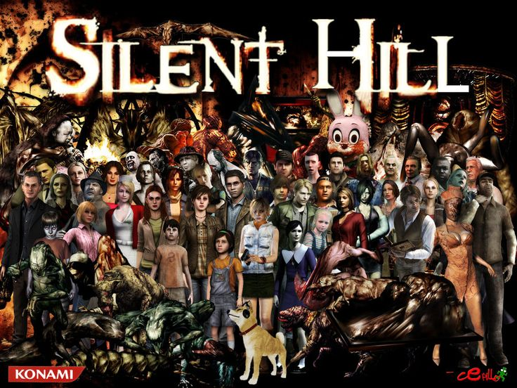 Silent Hill, one of my favorite games series