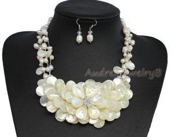 5 sorella di Strand Natural Freshwater Pearl di AudreyjewelryB