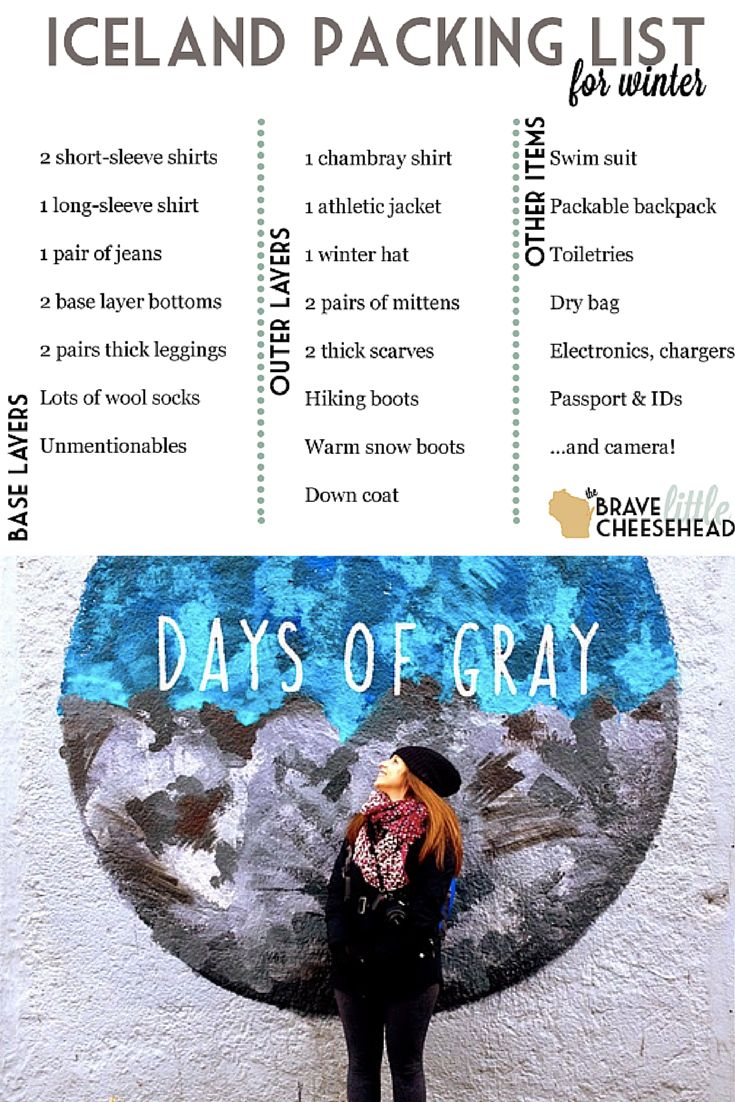 Having 5 days in Iceland was truly unbelievable, but for approximately 1 month before I left, I couldn't stop stressing about one thing. What on earth do I pack?!