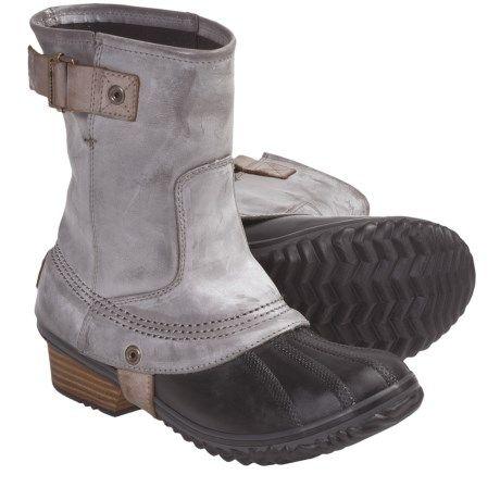 Sorel Slimpack Short Riding Boots (For Women) 5564K