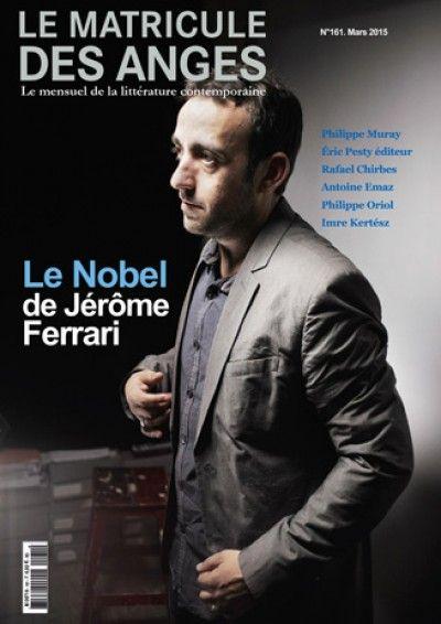 Le Matricule des Anges #161 : Le Nobel de Jérôme Ferrari