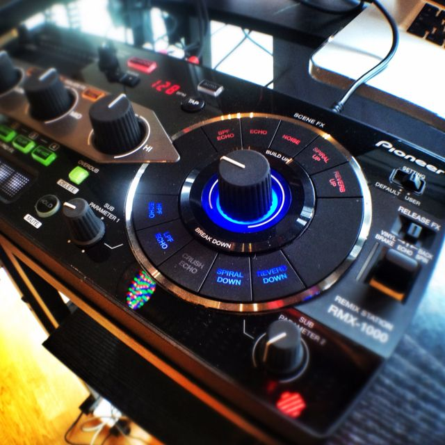 New Pioneer RMX1000 demonstration in store. Has to be one of the coolest toys and additions to any dj setup. Instantly adds fun to any performace
