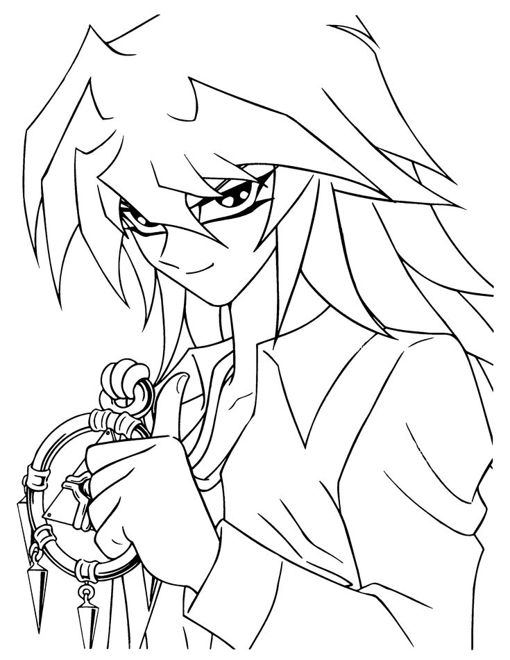 14 Best Color Yu Gi Oh Coloring Pages And Lineart