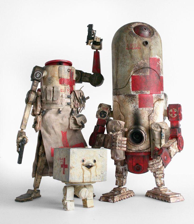World War Robot | Artist: Ashley Wood