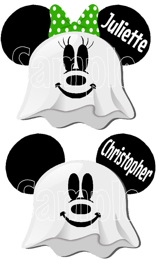 Mickey Minnie Mouse Ghost Halloween Disney Cruise Line Name Plate Tag Stateroom Door Magnet Individual names buy 3 get1free by KimsCreations1127 on Etsy https://www.etsy.com/listing/471503167/mickey-minnie-mouse-ghost-halloween