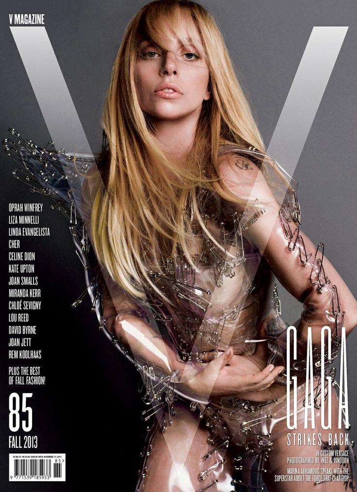 Lady Gaga V Magazine - Custom Versace