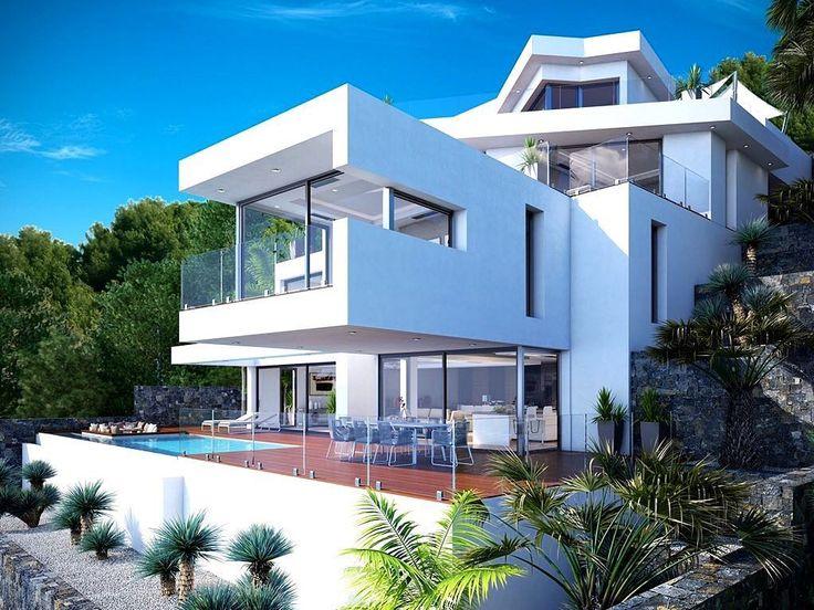 granadella home with clean modern design luxury lifestyle interiors interiordesign homedesign