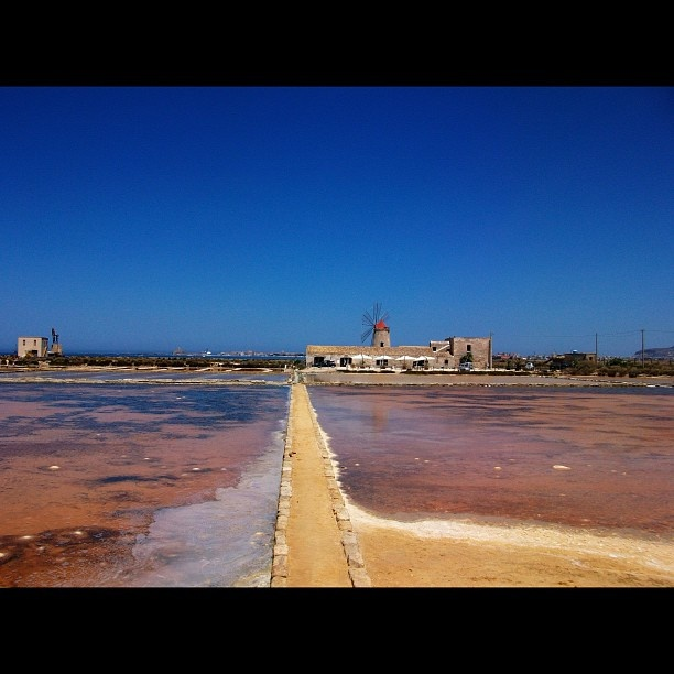 """Saltworks in Trapani Sicily, Italy) 