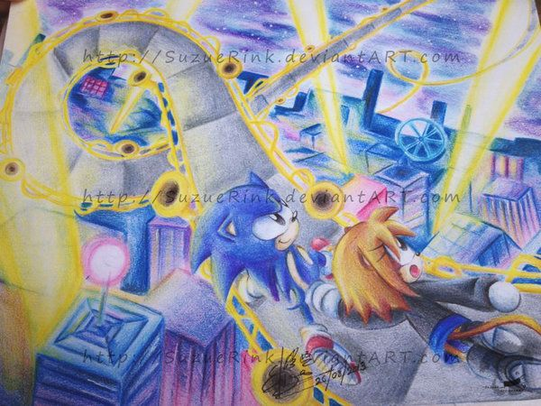 Hi everyone!!! Got to work again, and this time I brought to you a pic from the classic game Sonic CD. The stage: Stardust Speedway (present) It is my fav stage in the game, so I decided to do it. ...