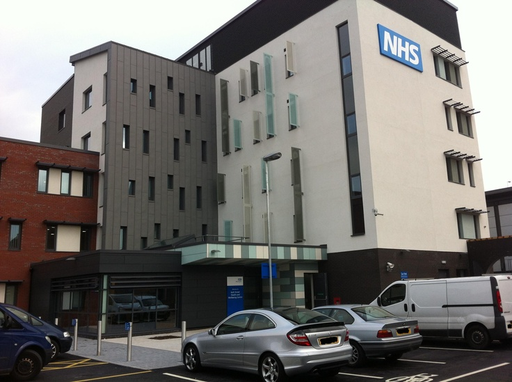 The new Bath Street Health and Wellbeing Centre, Warrington Town Centre