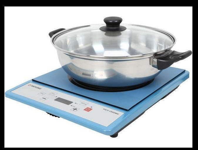 Portable Induction Cooktop Burner Countertop Electric Stove Cooker Hot ...