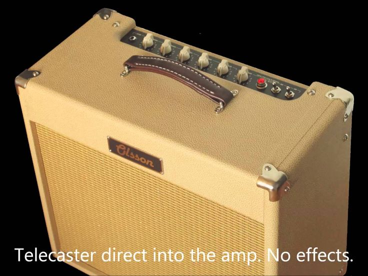 Olsson Amps - Club Fortyamp with Tele and SG with P90