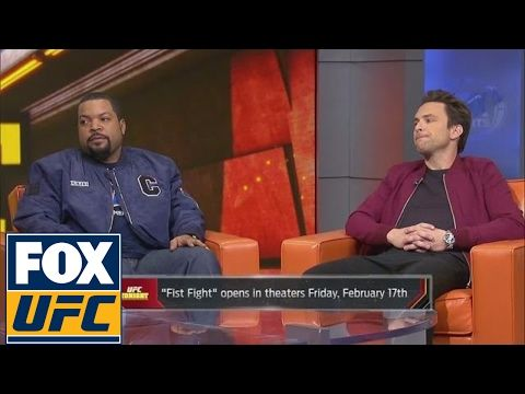 MMA Ice Cube and Charlie Day talk McGregor vs. Mayweather and more   UFC TONIGHT