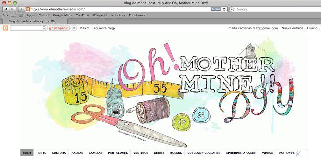 Cómo descargar los patrones y moldes gratis del blog. DIY, costura y moda.