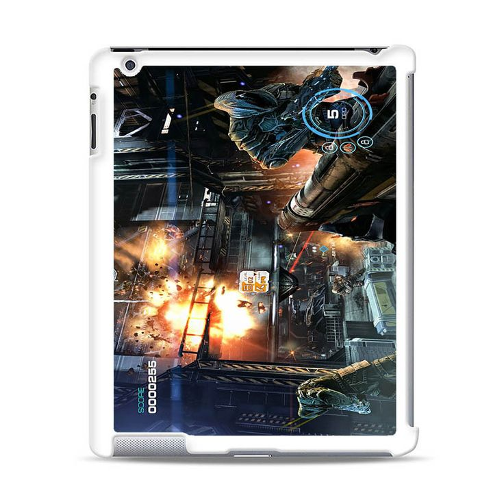 ALIEN FEAR GAME MOTIF iPad Case