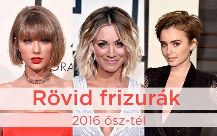 Rövid hajtrendek 2016 ősz - tél - Szabó Imre Hair & BeautySzabó Imre Hair…
