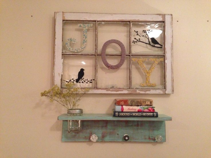17 best images about window ideas on pinterest crafts for Craft projects using old windows