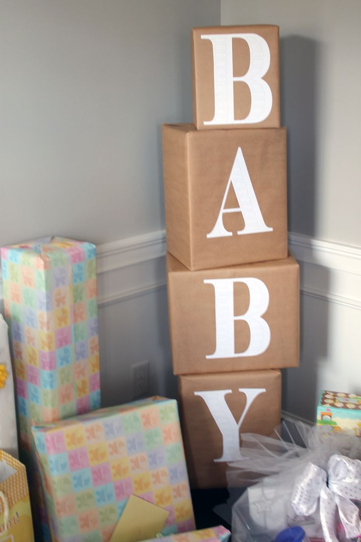 Best 25 simple baby shower ideas on pinterest gender for Baby name decoration ideas