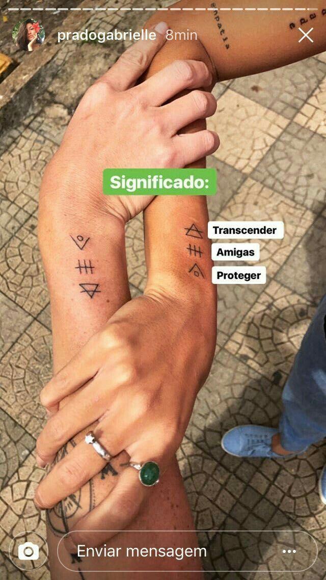 Pin De Bian Dorso En Tatuajes Pinterest Tatuaje Sisters