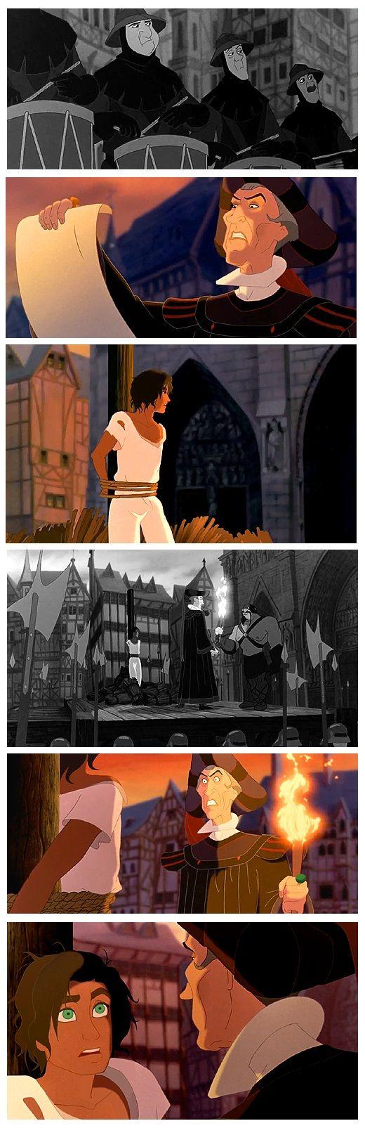 execution of genderbend Esmeralda and gay Frollo by esmeraldo The expression on Esmeralda's face D: