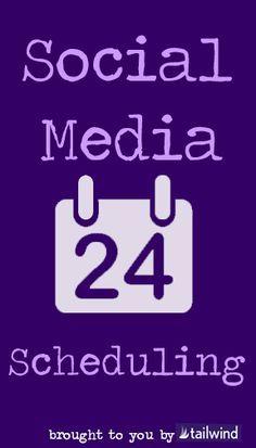 Social Media Scheduling